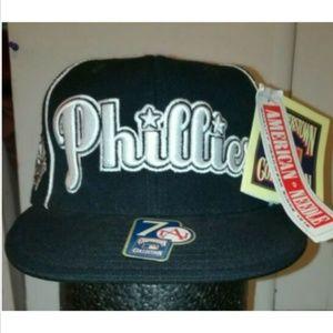 NWT American Needle Philadelphia Phillies Hat Cap